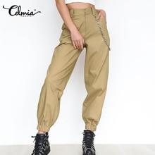Streetwear Pants Fashion Trousers Female High-Waist Plus-Size Casual 5xl Women Solid