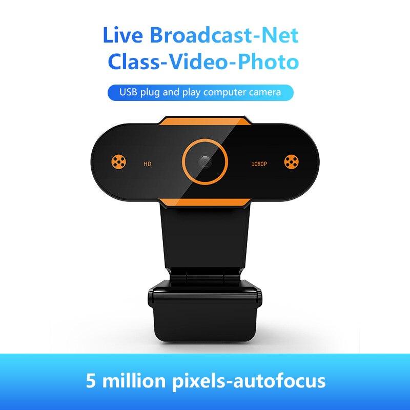 Hot Sale 480/720/1080P/2k Web Camera HD Webcam USB 2.0 Camera Video Recording Web Camera With Microphone For PC Computer Webcam