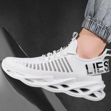 Męskie i damskie buty sportowe oddychające buty do biegania outdoor moda sportowa wygodne miłośników wypoczynku buty do biegania sneaker tanie tanio oeny Unisex CN (pochodzenie) Profesjonalne Wysokość zwiększenie Masaż Wodoodporna Niskie Pasuje prawda na wymiar weź swój normalny rozmiar