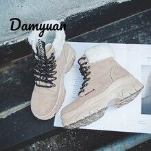 Damyuan Running Shose Women's Sneakers Lightweight Casual Comfortable Warm Non-slip Wear-resisting Fashion Sport Shoes Women's