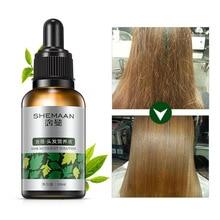Morocco 30 мл эфирное масло женьшеня Уход за волосами Лечение эссенция помощь для роста волос Жидкое восстановление волос травяная кератиновая сыворотка