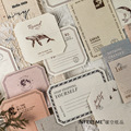Mohamm 15 шт 4-дневные TalkSeries декоративные бумажные Липкие заметки креативные Скрапбукинг Канцелярские Товары для школы