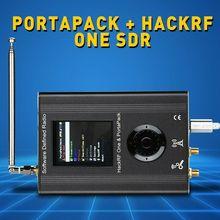2019 חדש גרסה PORTAPACK עם HACKRF אחד 0.5ppm TCXO שעון מתכת מקרה SDR רדיו מוגדר תוכנה מקוונים GPS סימולטור