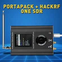 2019 nuova versione PORTAPACK con HACKRF UN 0.5ppm TCXO orologio cassa del metallo SDR Software Defined radio GPS Offline simulatore