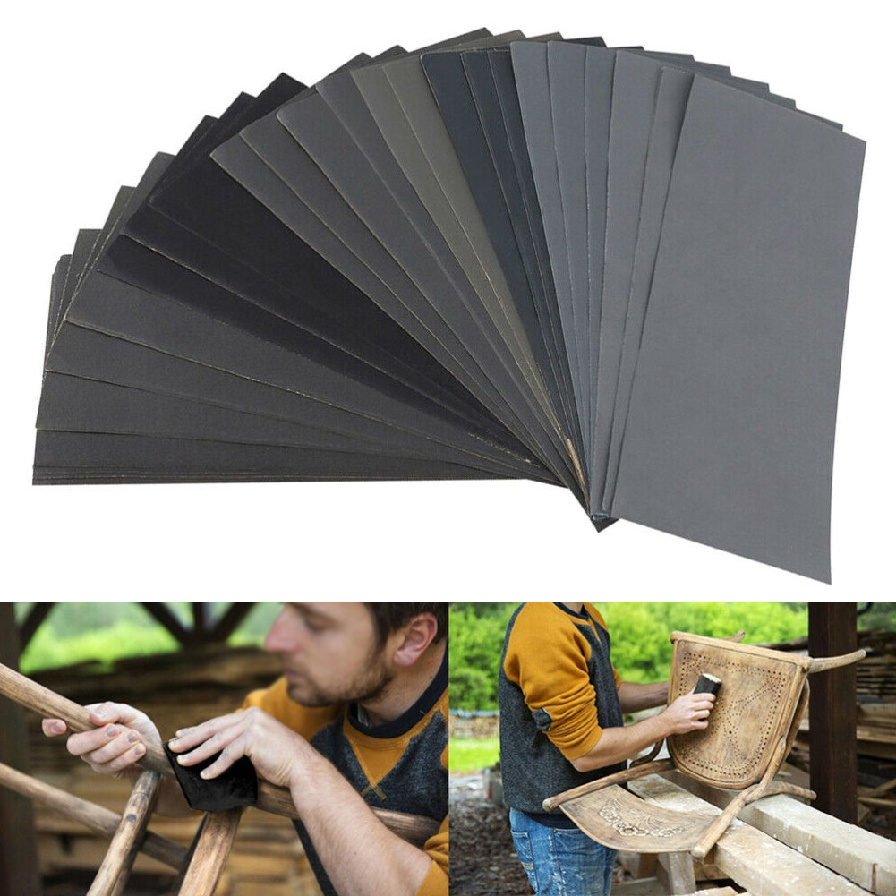 Well Made Sheets Of Sandpaper 1000/2000/3000/5000/7000 Grit 20 Sheets 23 X 9 X 0.1cm New Parts