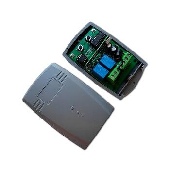 цена на 10pcs Garage Door remote control 433mhz 433.92mhz receiver DC 12V - 24V Remote control switch for garage door rolling code