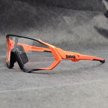 Photochromic ciclismo óculos de sol homem & mulher esporte ao ar livre óculos de bicicleta óculos de sol óculos de sol gafas ciclismo 1 lente 22
