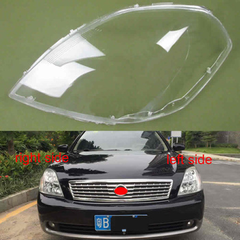 For Nissan Teana 2006 2007 Front Lampshade Lamp Clear Lampshade GlassLamp Shell Mask Headlight Cover Lens Glass
