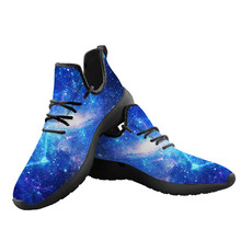 Cool 3D Galaxy Printing Summer Vulcanize Shoes for Mens Custom Platform Sneakers
