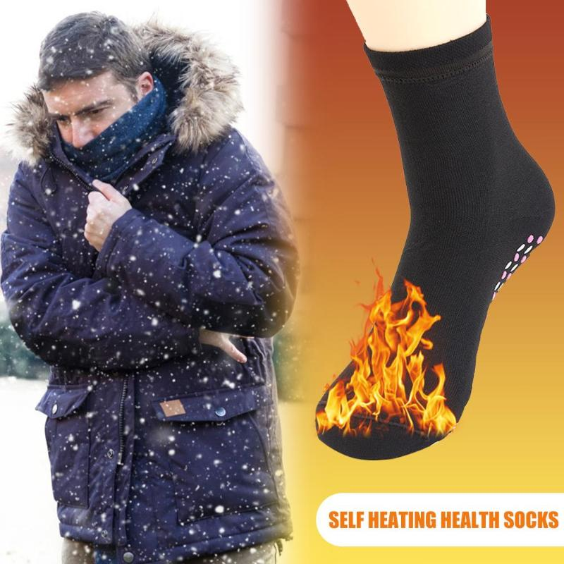 Self Heated Socks Outdoor Winter Sports Magnetic Therapy Warm Healthy Socks Help Warm Cold Feet Warmer for Men Women Adults|Skiing Socks| |  - title=