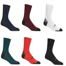 Novo ciclismo meias de alta elasticidade esportes ao ar livre wearproof calçado de bicicleta para meias de bicicleta de estrada