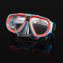 Adult Diving Mask Anti-Fog Goggles Glasses Diving Swimming Easy Breath Tube Snorkeling Goggles Professional Scuba цена 2017