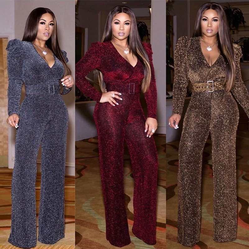 African Clothes For Women 2020 Design Bazin Dashiki For Lady Jumpsuit Elegant Stylish Jumpsuit Female Overalls Africa Clothing