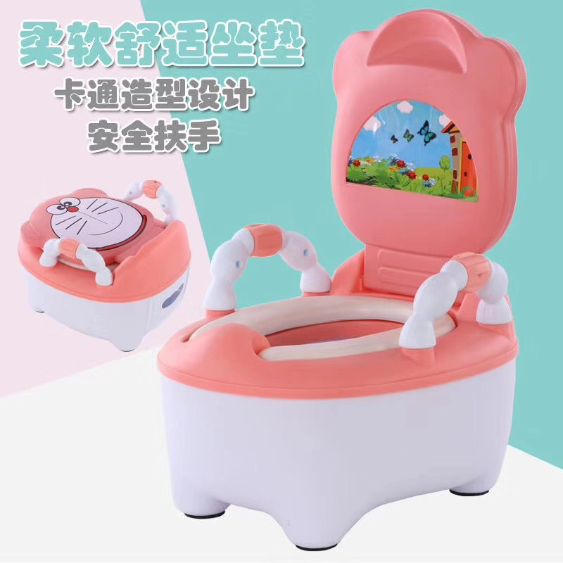 Toilet For Kids Large Size Infants Padded Bedpan Men And Women Baby Portable Closestool Potty