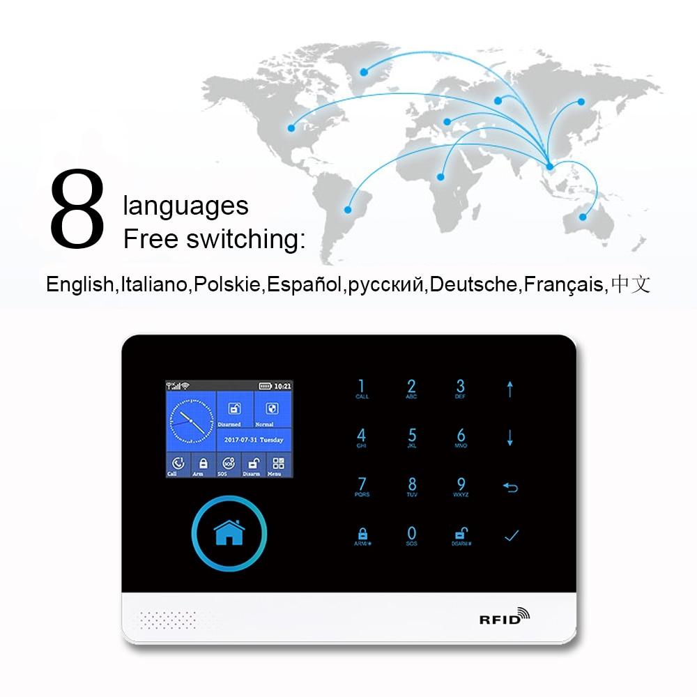 switchable 8 idiomas sem fio de seguranca 03