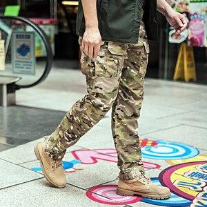 Image 4 - Брюки Sector Seven IX2 мужские тактические, штаны карго для боевых действий, армейские штаны в стиле милитари для активного отдыха, камуфляжные, 2020