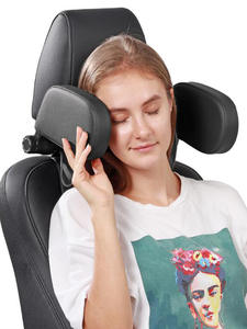 Pillows Cushion Rest-Headrest Memory-Foam Leather-Cloth Sleeping-Side-Support Car-Neck