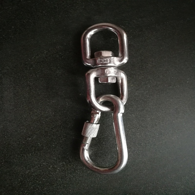 Dog Chain Hook Connection Buckle Large Ultra-Large Dog Dog Buckle Stainless Steel Universal Pet Traction Connection Dog Hook