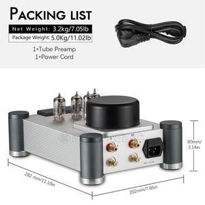 Image 5 - Nobsound válvula y amplificador de tubo de vacío, 12AX7(Tesla/JJECC83), estéreo, Hi Fi, preamplificador de grado audiófilo, Ref Marantz 7