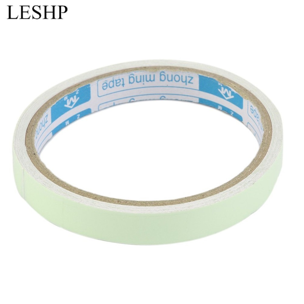 Warning Tape Rescue Equipment Tape Self-adhesive Glow In The Dark Safety Stage Home Decorations  Fire Alarm3 Meters