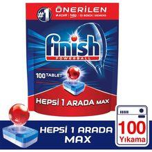 Terminar tudo em um 100 tablet detergente para máquina de lavar louça