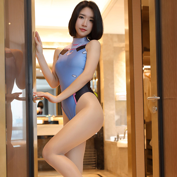 Game Cosplay Overwatch DVA 3D Printed Sexy Costume for Women Anime Bodysuits One Piece Swimwear Halloween Porn Play Playsuits 6