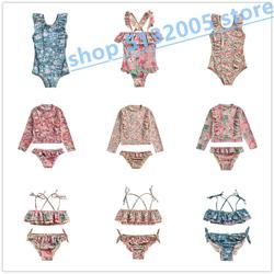 IN STOCK 2020 Spring and Summer New LM Series National Wind Quick-drying Sunscreen Split Swimsuit