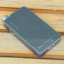 Haafee amplificador de auscultadores de alta fidelidade portátil com es9038q2m dac bluetooth 5.0 suporte aptx csr8675-hd 16-300 ohm fone de ouvido