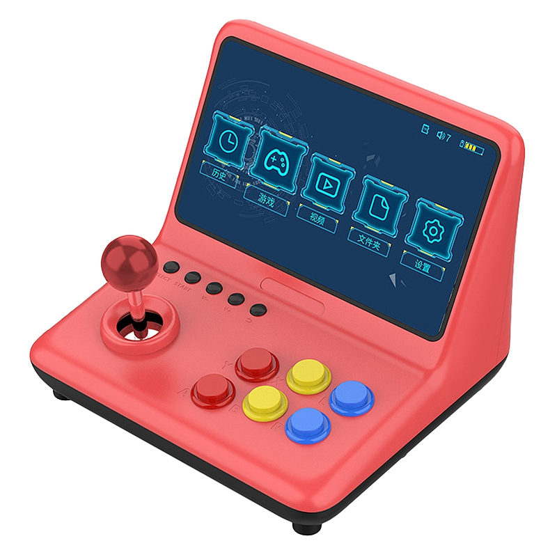 A12 9 Inch Nostalgic Game Console Video Game Console Joystick Arcade A7 Architecture Quad-Core Cpu Simulator Game  32G