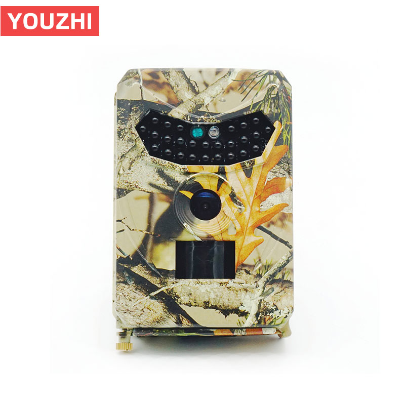 Night Vision Digital Hunting Camera PR 100 Waterproof Trap Trail Camera 26pcs Infrared LED120 Degree 12MP Wild Camera-in Surveillance Cameras from Security & Protection