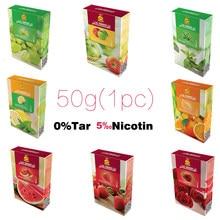 Importação original shisha narguilé tabaco frutado sabor livre alcatrão nicotina narguilé acessórios al fakher