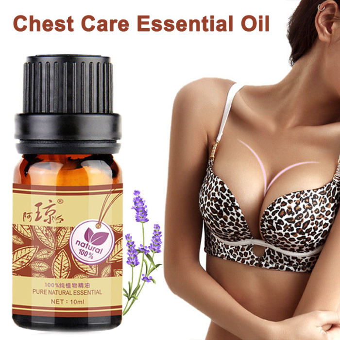 10ml Breast Enlargement Essential Oil for Breast Growth Big Boobs Firming Massage Oil Beauty Products for Women Butt Enhancement