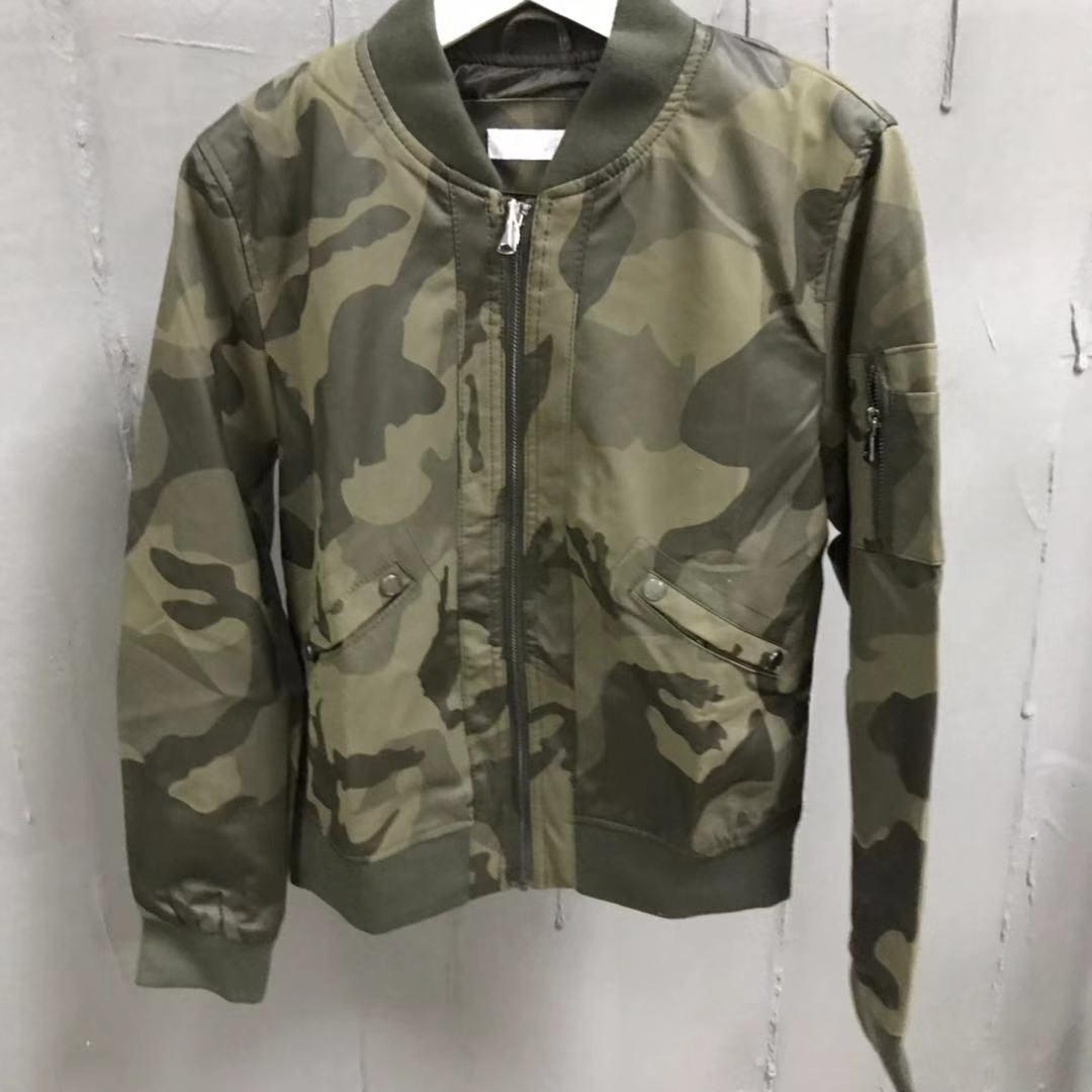 Камуфляжная короткая куртка BD 81913