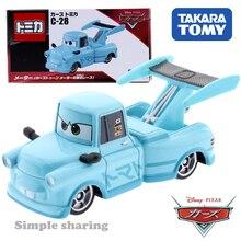 Takara Tomy Tomica Disney Pixar Cars C-28 Tokyo Mater (Toon Tokyo Type) Car Hot Pop Kids Toys Motor Vehicle Diecast Metal Model