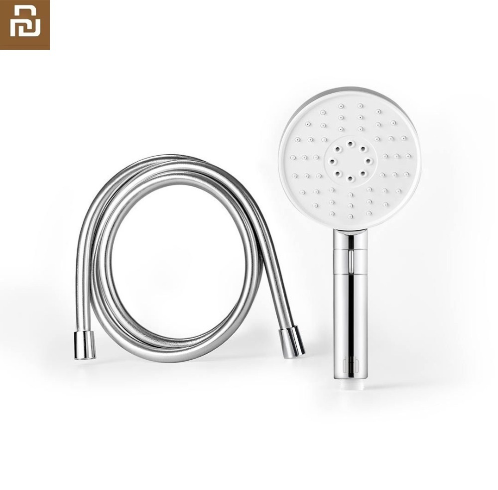 Xiaomi New Wall-mounted Bathing Take A Shower Nozzle Household Handheld Shower Head Set 120mm 53 Water Hole Shower System