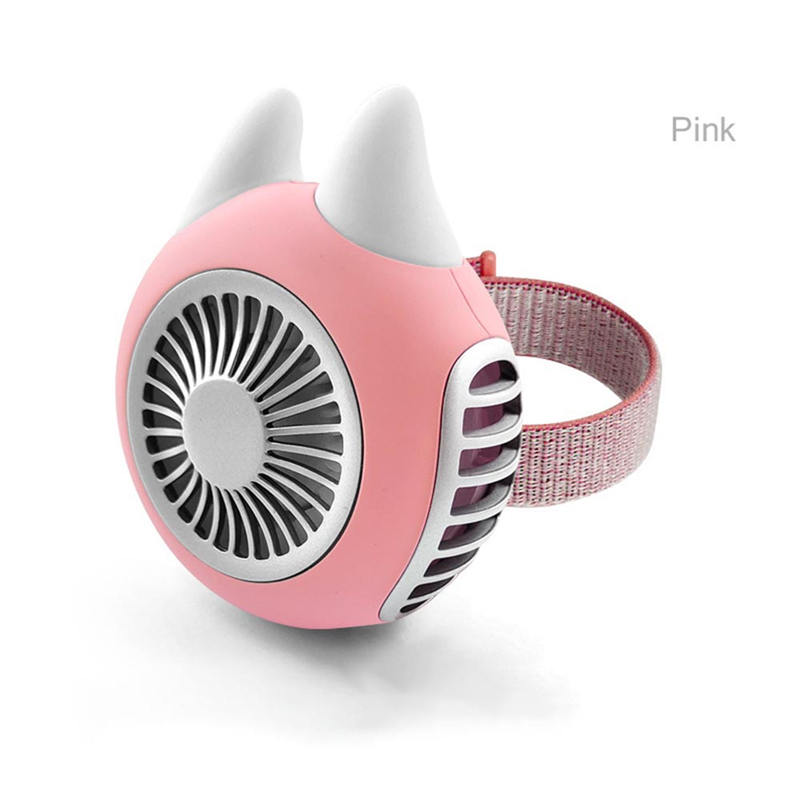 USB Handheld Rechargeable Fan Mini Portable Fan Handy Adjustable Small Charging USB 1500mAh Cooling Air For Carrying