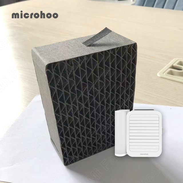 Original Microhoo Capacity Mini USB Portable Air Conditioner Filter Cool and Humidify Touch Screen Air Conditioner Filter 1