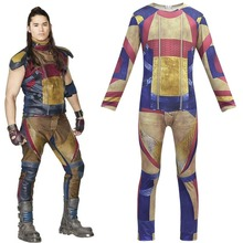 New Fashion warrior Descendants 3 Cosplay Costume for Kids Girls/Boys Halloween Carnival Dress Up Cool Top