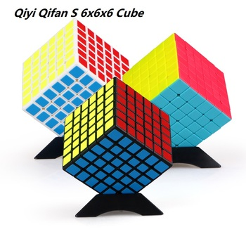 Newest QiYi Qifan S 6x6x6 Magic Cubing Speed  6Layers Professional Puzzle Cubo Magico 6x6 Educational Toys For Children Gift - discount item  41% OFF Games And Puzzles
