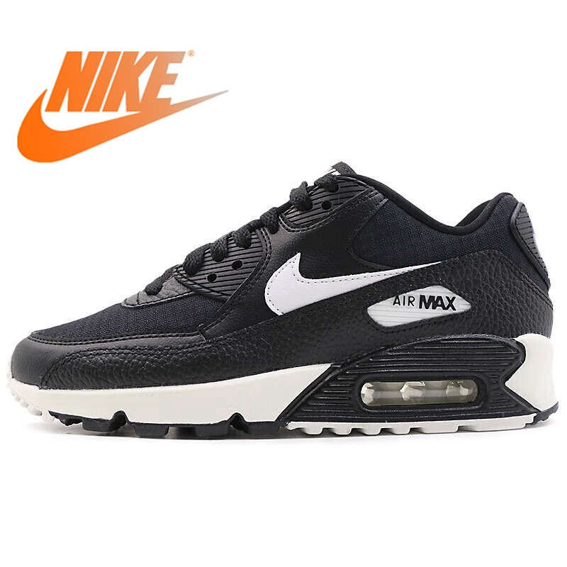 Official Authentic NIKE Air Max 90 Women's Running Shoes Outdoor Sports Shoes Trend New Sports Shoes New Listing 325213-060
