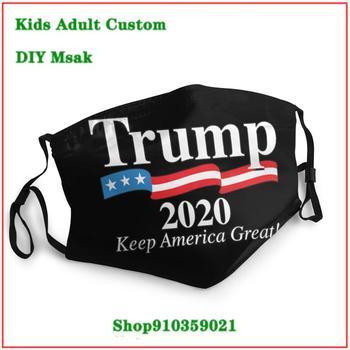 Best Deal masque facial lavable Trump 2020 Keep America kids men women children face mask masque reutilisable enfant