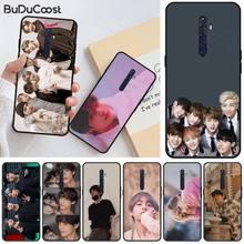 цена на Manton Star Kpop Bangtan Boys TPU black Phone Case Cover Hull For OPPO R11 11S plus RENO 2Z R15pro R17pro Realme 2 3 3 5 5pro C2