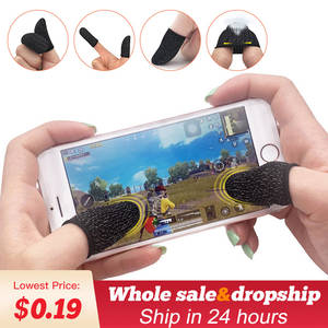 Game-Controller Trigger Finger-Sleeve Pubg Mobile Fortnite Touch Rules of Survival-Gatillos