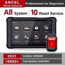 ANCEL X6 OBD2 السيارات الماسح الضوئي التشخيص السيارات نظام كامل ماسح الرادار الخاص بالسيارة SAS وسادة هوائية النفط إعادة المهنية سيارة التشخيص أداة
