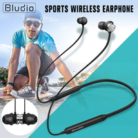 Bluedio Sports Wireless Bluetooth 5.0 Earphone Neck hanging Wireless Headset for 250H Standby Active Noise Cancelling Earphone