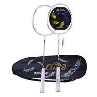 CIMA Carbon Badminton Schläger Licht String Professionelle Tasche Schläger-in Badmintonschläger aus Sport und Unterhaltung bei