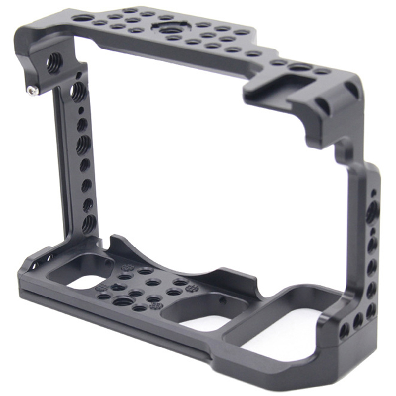 Camera Cage For Nikon Z6 Z7 Camera With Arri Locating Holes Shoe Mount Fr Monitor Microphone Attach