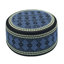 Clothing Headscarf Turban Islamic-Hat Prayer-Hats Saudi Arabia Cotton New Muslim Topkippot