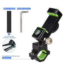 MTB Bike Handlebar Mount Phone Holder For Mobile Smart  Cell Phone  Motorcycle GPS Bracket Compass Holder Stand Accessories trimble tsc3 hand thin bracket with compass tempo tsc3 tsc2 gps rtk bracket