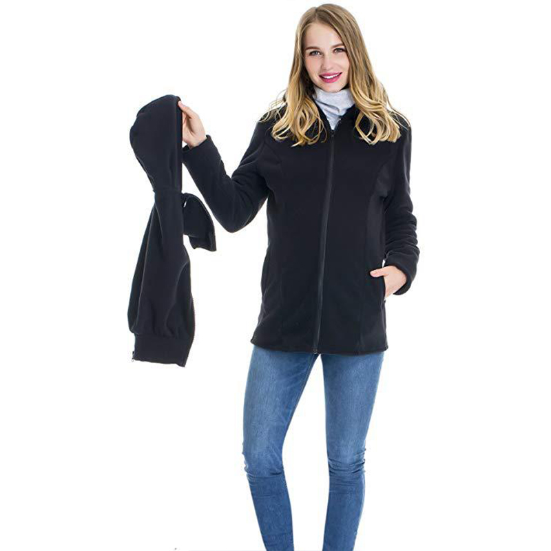 New Hoodies Women Kangaroo Mother Autumn and Winter Womens Clothing Childcare Bag Long Sleeve Clothes